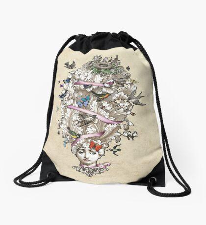 Her Wild Life Drawstring Bag