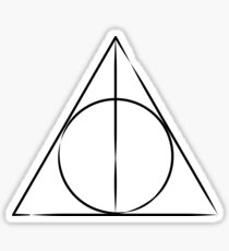 The Sign of the Deathly Hallows Sticker