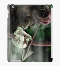 Robin der mit Kapuze Mann - Sherwood Forest, Robin Hood, Bogenschütze, Nottingham iPad-Hülle & Klebefolie