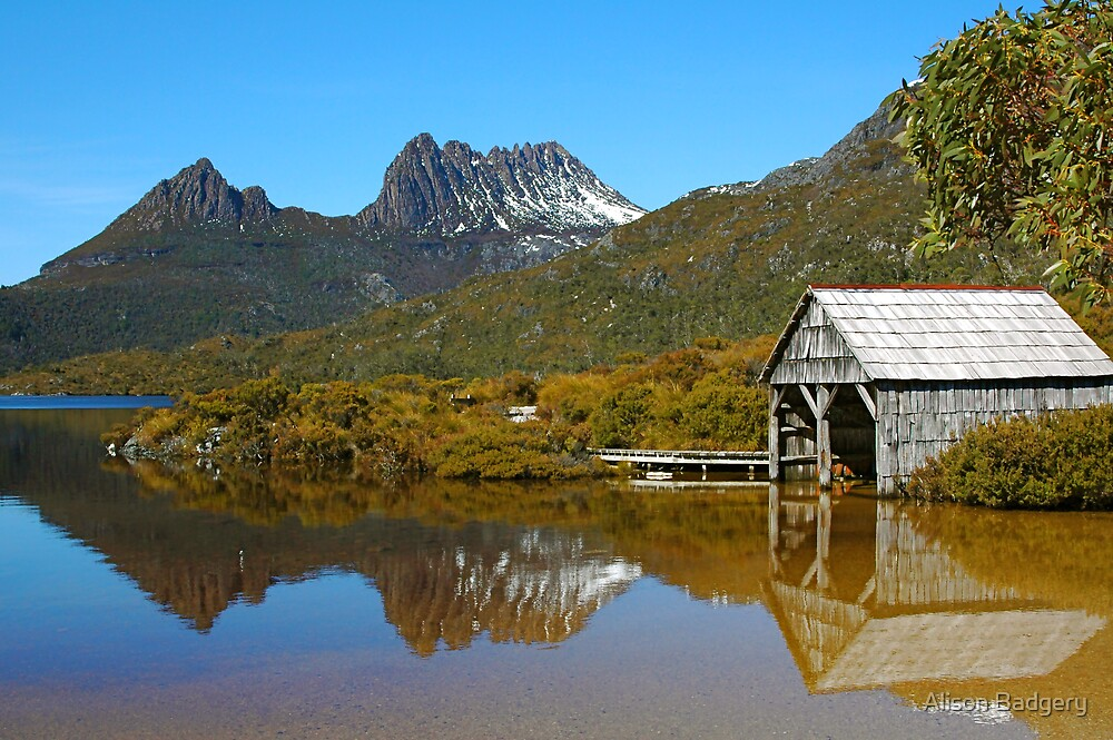 Mountain Reflection by Alison Badgery