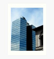 Tower of Glass Downtown Worcester, MA Art Print
