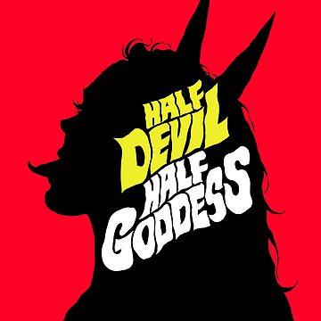 Half Devil Half Goddess by butcherbilly