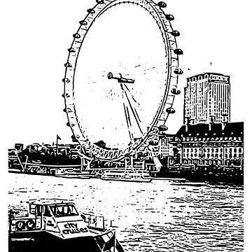 The London Eye View by Deestylistic