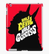 Half Devil Half Goddess iPad Case/Skin