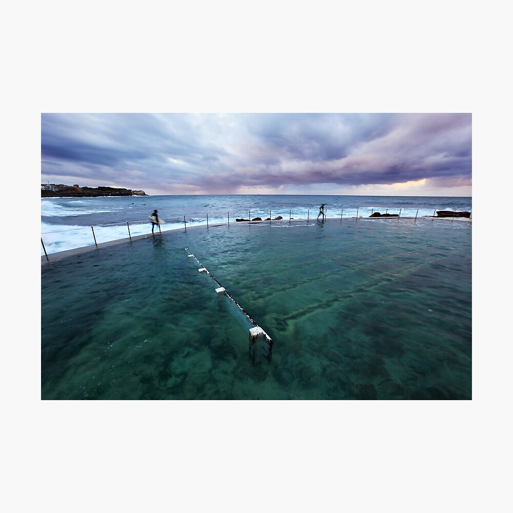 Bronte Beach Baths, Sydney, Australia Photographic Print