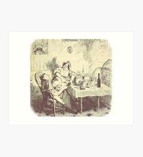Oliver Twist original illustration Art Print