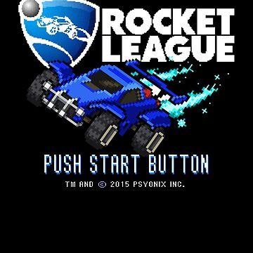 8-Bit Rocket League Title Screen by phoenix529