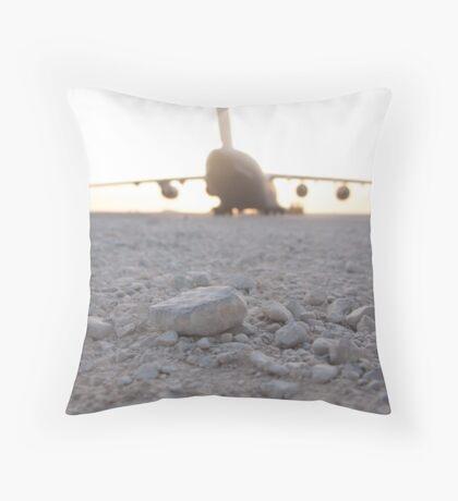 C17 Throw Pillow
