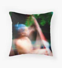 Maori War Canoe 1 Throw Pillow