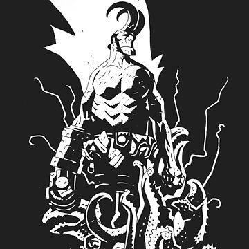 Hellboy Anung Un Rama Beast of the Apocalypse  by Oclibertine