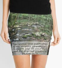 Psalm 16:11 - Finding our Path Mini Skirt
