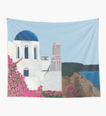 Greece Wall Tapestry