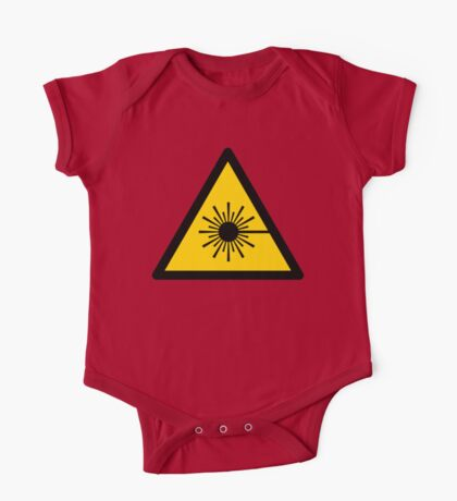 Warning Laser Radiation Kids Clothes