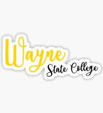 Wayne State College Sticker