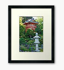 SF Japanese Tea Garden Study 19  Framed Print