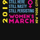 Women's March New York City NYC NY January 2019 by oddduckshirts