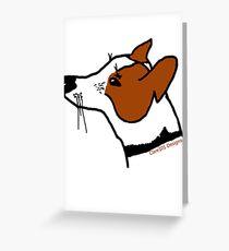 Jack Russel Greeting Card