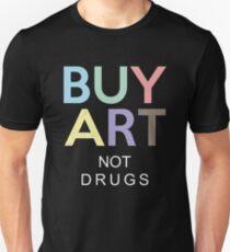 Buy Art Not Drugs T-Shirt Slim Fit T-Shirt
