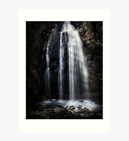 Waterfall Gully, Second Falls. Art Print