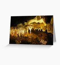 Capricorn Caves Greeting Card