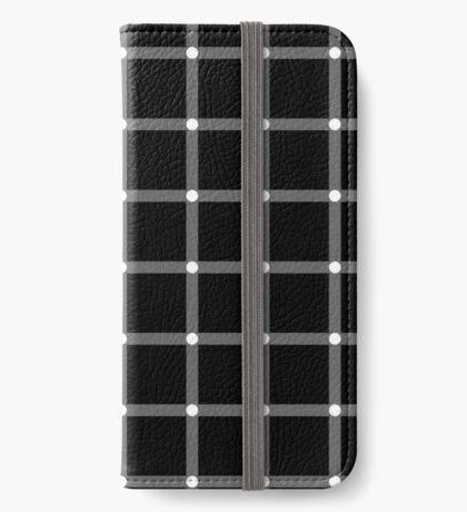 Scintillating Grid iPhone Wallet