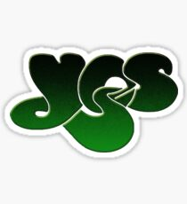 Yes - Close To The Edge Logo Sticker