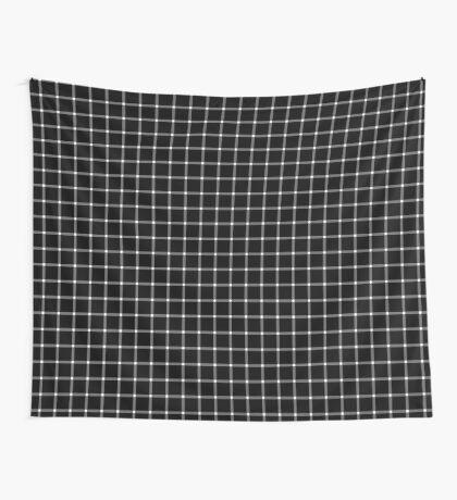 Scintillating Grid Wall Tapestry
