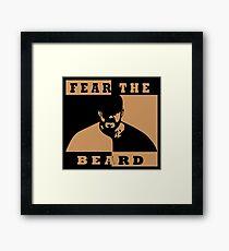 Fear The Beard Brian Wilson   Framed Print