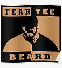 Fear The Beard Brian Wilson   Poster