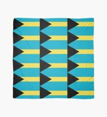 The Bahamas Flag Design Scarf