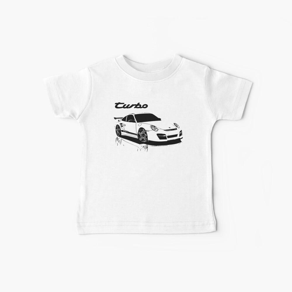 turbo - porsche 911 Camiseta para bebés