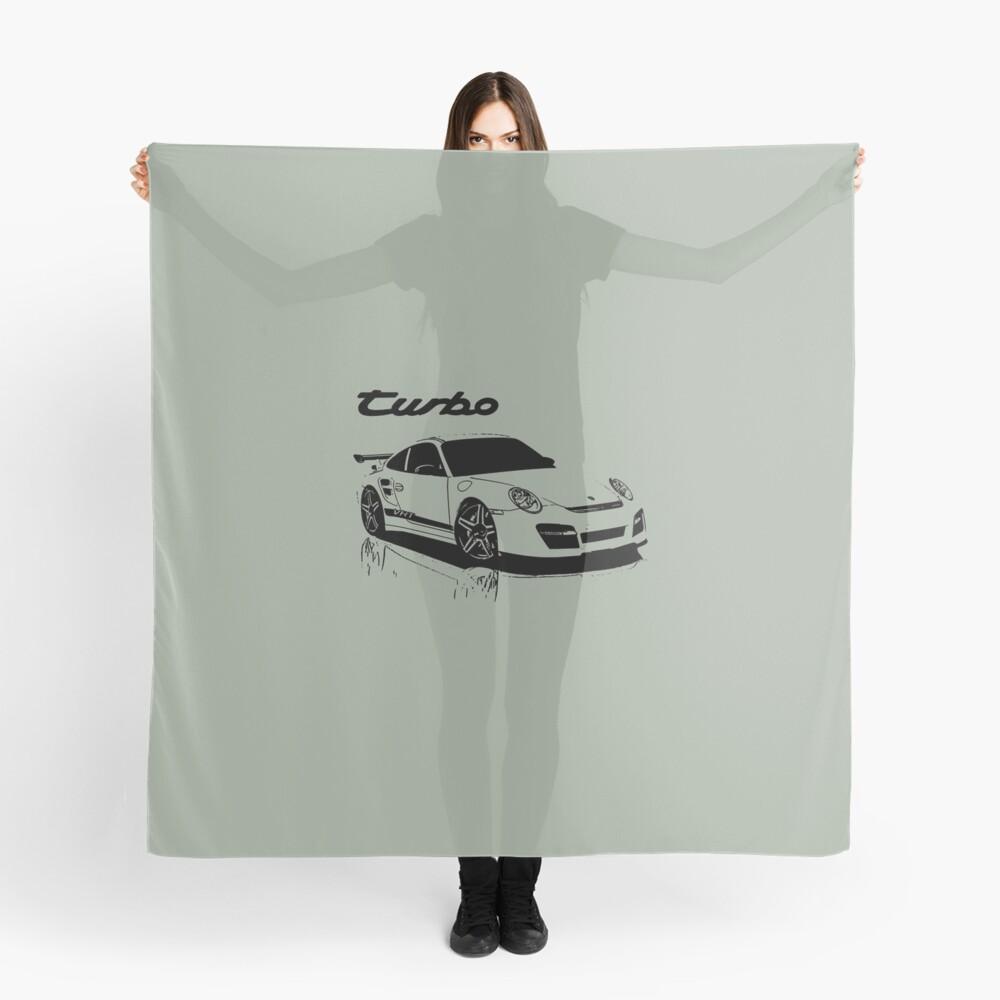 turbo - porsche 911 Pañuelo