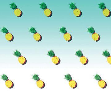 Pineapple Gradient Pattern by JonathanSAN69