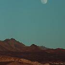 Blue Moonrise - Death Valley by Daniel Owens