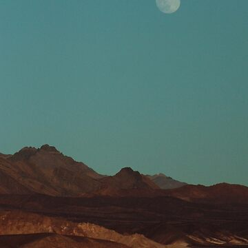 Blue Moonrise - Death Valley by DanielOwens