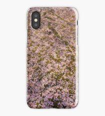 Snowing Sakura Petals in Spring iPhone Case