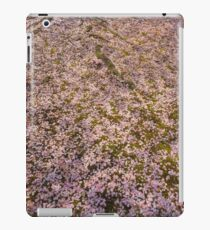 Snowing Sakura Petals in Spring iPad Case/Skin