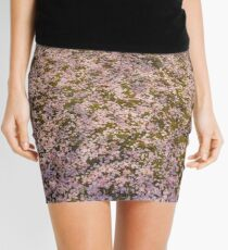 Snowing Sakura Petals in Spring Mini Skirt