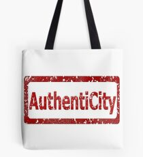 AuthentiCity Stamp Tote Bag