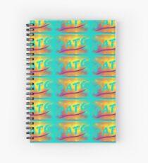 PATG - Eighties Halftone Spiral Notebook