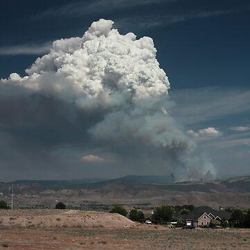 Utah Forest Fire by DanielOwens