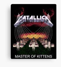 CATALLICA - Master Of Kittens Canvas Print