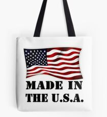 Made In The U.S.A. Stamp Tote Bag