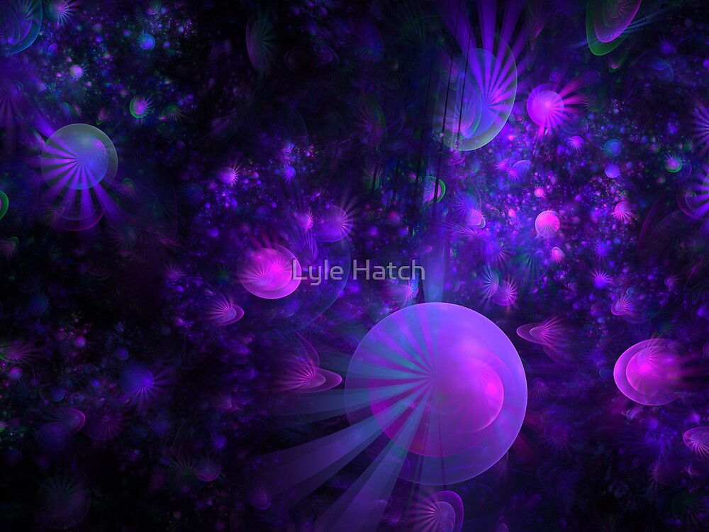 Jellyfish Fields Forever by Lyle Hatch