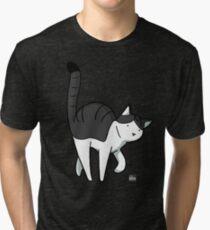 The Cat - Michael Tri-blend T-Shirt