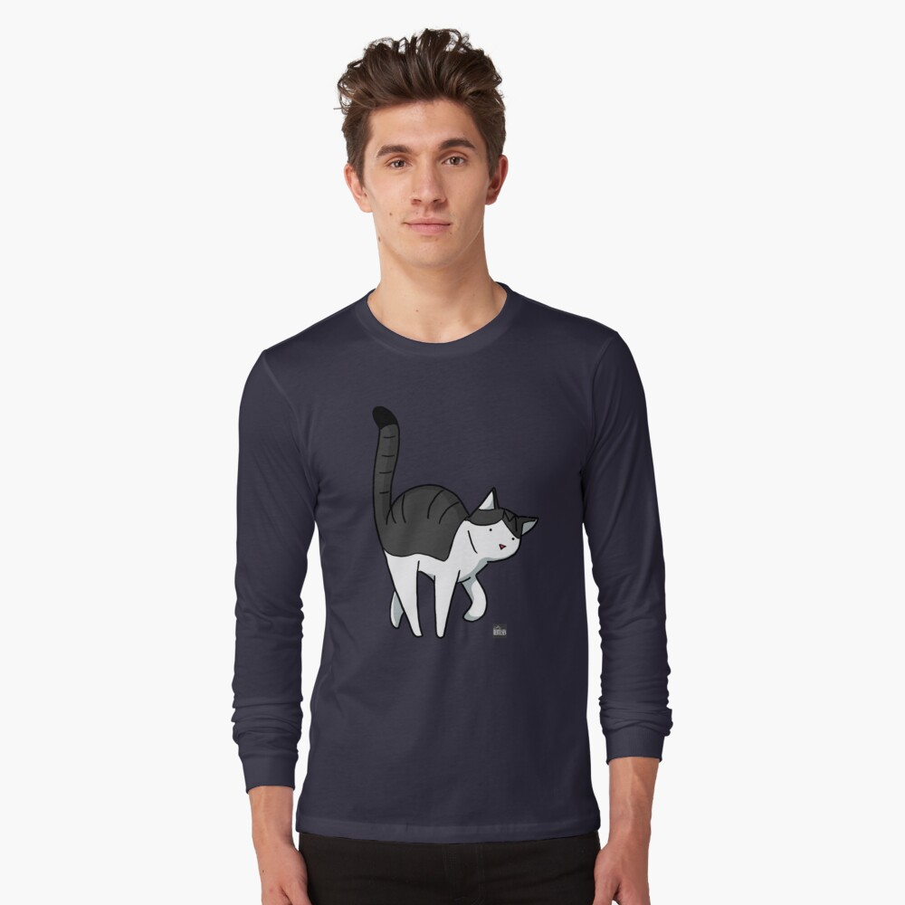 The Cat - Michael Long Sleeve T-Shirt Front