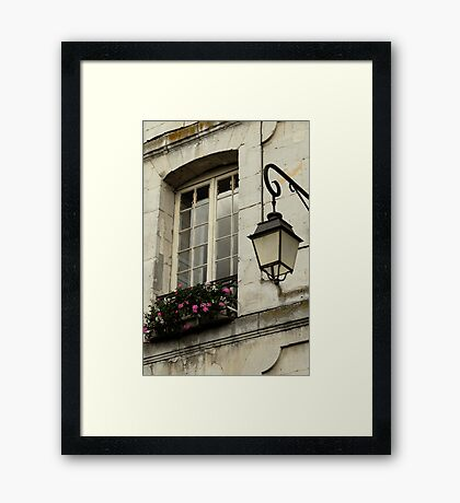 French window Framed Print