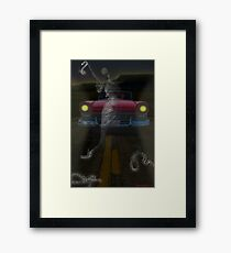 THE GHOSTS OF ROUTE 66 Framed Print