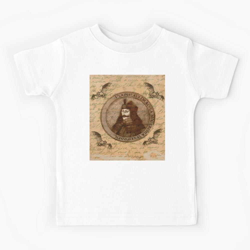 Graf Vlad Dracula Kinder T-Shirt