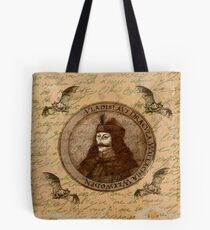 Graf Vlad Dracula Tote Bag